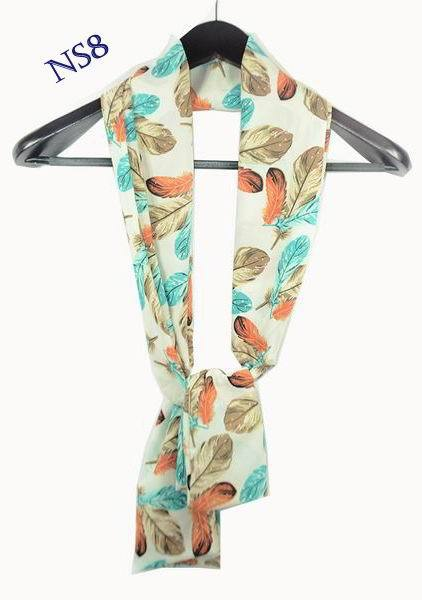 Good Quality 6 Pieces Lots Double Layer Material 150*22CM Design Men's Neck Scarf Fashion Ladies Long Wrap Scarves Neckwear(China (Mainland))