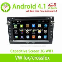 Capacitive Android 4.2 car radio navi for VW fox/crossfox/espacefox/spacecross with gps bluetooth radio screen shot OBD 3g wifi