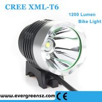 1200 Lumen CREE XML T6 LED USB Bike Light Front Bicycle Lamp & LED Headlight Headlamp with 3 Modes 200-500m distance