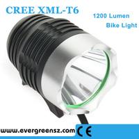 1200 lumen USB For power Cree XML LED 3-Mode USB Bike Light (Battery Pack not included) 1T6-5