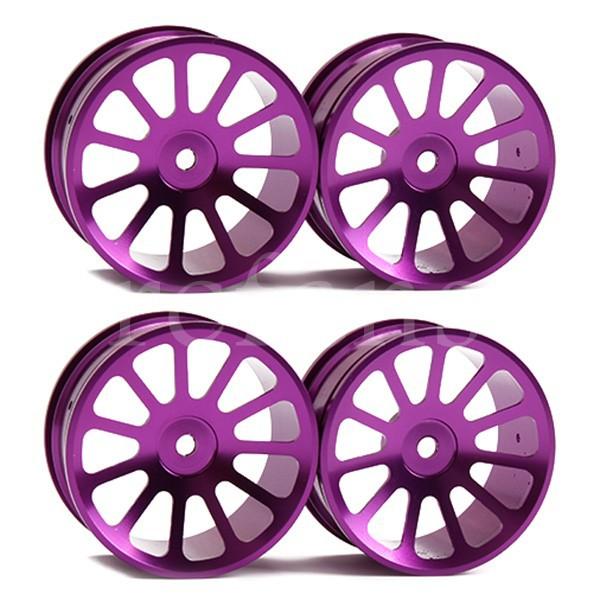 1:10 RC Violet 11 Spoke On Road Car Aluminum alloy Wheel Rims 4pcs(China (Mainland))