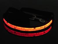 50Pcs/Lot Lovely Bear Flashing LED Dog Leashes Fashion Dog Collars Flashing at Night Free Shipping