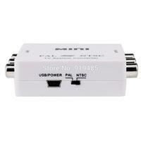 MINI TV System Video Converter PAL / NTSC Bi-directional Converter Adapter  free shipping