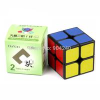 New Dayan Zhanchi 2x2 Black 50mm Magic Cube Anti-pop for Speedcubing 2x2x2 Twist Puzzle Educational Toys Children Gift Toy