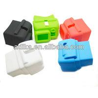 10pcs/lot Go pro hero3 soft protective sillcone case for hero3 accessories cheap GP41