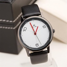 Free shipping Concise modern mens watches Trendy casual ladies watches Fashion jewelry