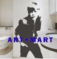 Justin Bieber Wall Decals For Music Fans NO.515 ART MART