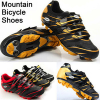 Bicycle shoes for Road Racing Mountain Racing Athletic Shoes MTB Cycling Shoes clips racing