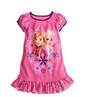 1PCS+Free 2014 Hot Selling New Style Girls Frozen Dress Elsa Anna beautiful Dress Fashion princess Dress Children's Cloting G006