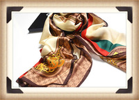 The new high-grade 100% silk scarves Spring scarves satin silk scarf shawl long section Free Shipping D0353