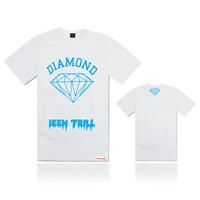 "New style Diamond shirt, men's O-neck Diamond t shirt shirts men clothes ""Get Your Shine On"" hip hop shirt 7 colors"