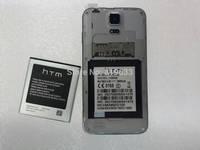 5pcs Original Android Phone Capacity 1800Mah Battery For 4.0inch HTM/ Feiteng H9006 MTK6572 Original Phone Battery Free shipping