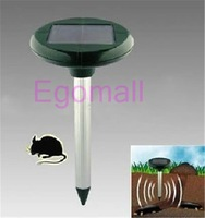Solar Power Ultrasonic Gopher Mole Snake Mouse Pest Repeller Control Garden Yard A483