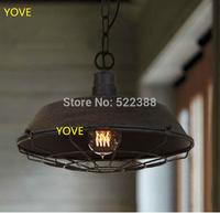 Loft Industrial Pendant Lamp Industrial Vintage Bedroom Cafe Restaurant Pendant Lights Ikea Lustres E Pendentes Lighting Fixture