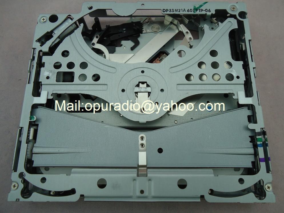 Brand new Alpine single CD deck mechanism DP33M21A for Mercedes chrysler car navigation CD player HondAcua(China (Mainland))