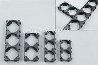 Free shipping  100pcs 18650 3pin battery holder /  bracket combination / electric bike battery bracket