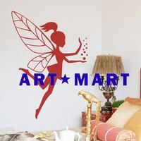 Bubble Fairy Vinyl Wall Sticker,Kids Bedroom Wall Sticker No.527 ART-MART