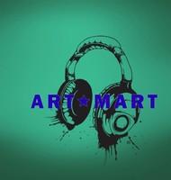 Music Headphones Vinyl Wall Decals Stickers No.828 ART-MART