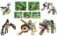 5pcs/lot, Bela Chima Mythical beasts Minifigures Model Building Blocks Sets lego compatible Toys kids Educational for children