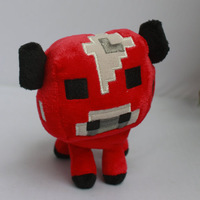 NEW  ORIGINAL 2014 Baby Mooshroom CREEPER PLUSH Jazwares Game Minecraft MOJANG OFFICAL DOLL NO TAG ~6""