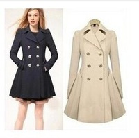 Cultivate one's morality show thin coat trench coat of ebay