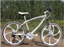 21 speed 26 inch with double disc brake aluminium alloy luxury bike Magnesium Alloy one-pcs wheel Mountain bike for BMW bike(China (Mainland))