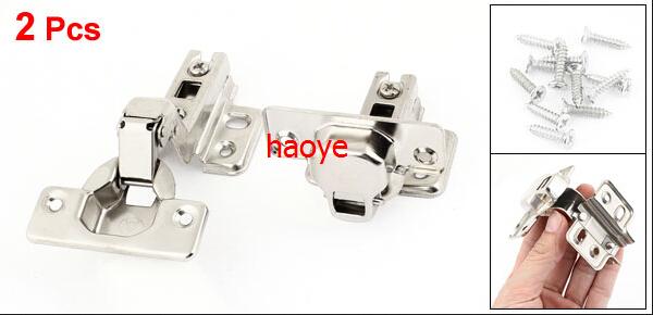 LUOB3 4Pcs Hardware Tool 11.5cm Length Metallic Concealed Cabinet Hinge(China (Mainland))
