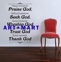 BIBLE SCRIPTURE-Vinyl Removable Wall Decals  NO.140 ART-MART