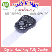Cute Digital Finger Hand Ring Tally Counter LCD Electronic Multi-Color Brand New FREE SHIPPING