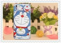 Doraemon Eiffel Tower Skull Ice Cream Rabbit Protective Moblie Cell Phone Hard Plastic Back Case Cover For Apple iPhone 5 5G 5S