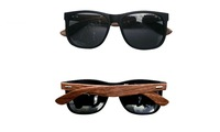 European and American Exquisite Fashion Colorful Handmade Bamboo Wood Sunglasses
