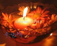 Free Shipping 50 pcs/lot Smokeless Round Floating Candle Tealight For Wedding Birthday Christmas Burning 3 Hours 26