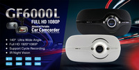 Mini Car DVR GF6000L 2.7 Inch 1080P Full HD Car Recorder 140 Degree Wide Angle Lens With G-Sensor+IR Night Vision Dash Cam