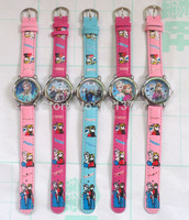 Wholesale New Arrive 10 Pcs Frozen watches wrist watches children watch free shipping