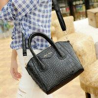 Trendy Crocodile Pattern Women Handbags Fashion Designer Leather Zipper Shoulder Bags Women's Crossbody WJ1010