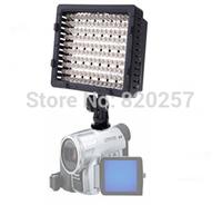 free shipping 160-LED Video Light for Camera DV Camcorder Lighting 5400K (3200k w/filter)