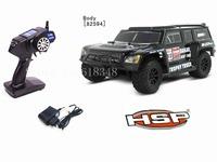 Christmas Gifts HSP 1/18 Electric Power Off Road Trophy Trucks 4WD RTR RC Car Dakar 94825 Remote Control Toys 2.4G Radio Control