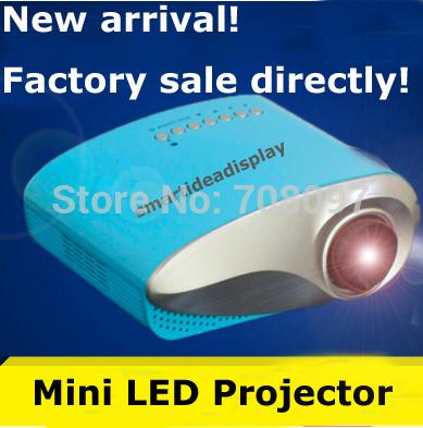 [해외]2014 최신 저가 프로젝터 Proyector 비머 LED 램프의 AV V..