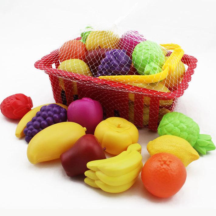 Keuken Accessoires Set : Fruits Basket Toys