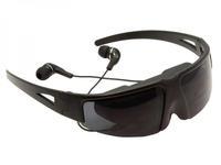 "Free Shipping VG260 FPV IVS Virtual Video Glasses Theatre Cinema Digital Video Eyewear Glasses 52"" Screen Detachable for iPhone"