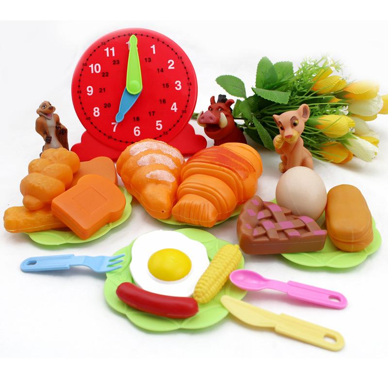Speelgoed Keuken Accessoires Plastic : Cooking Food Miniature Set