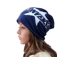 Fast Shipping Winter Warm Unisex Hat Elastic Hip-hop Cap Beanie Skull Hat Slouchy Baggy Oversized Ski Hat Men/Women