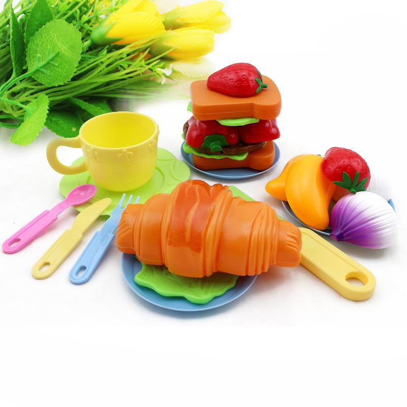 Speelgoed Keuken Accessoires Plastic : aardbei Cream Sandwich keuken accessoires set baby-koken speelgoed