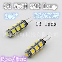 Free shipping. Highlight 13 lamp 5050LED lamp, DC/AC12V and white/warm 208LM quality assurance 5pcs/LOT