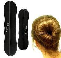 fashion 2014 New sweet black sponge ball head hair disk long hair hair tools hair accessories