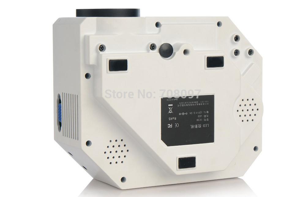 [해외]2014 최신 업그레이드 미니 LED 프로젝터 UC30HDMI 포트,..