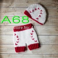 free shipping,30set Crochet Baby newsboy caps,Diaper Cover,Baby baseball hat and shorts set Newborn Photo Prop NB-3M cotton