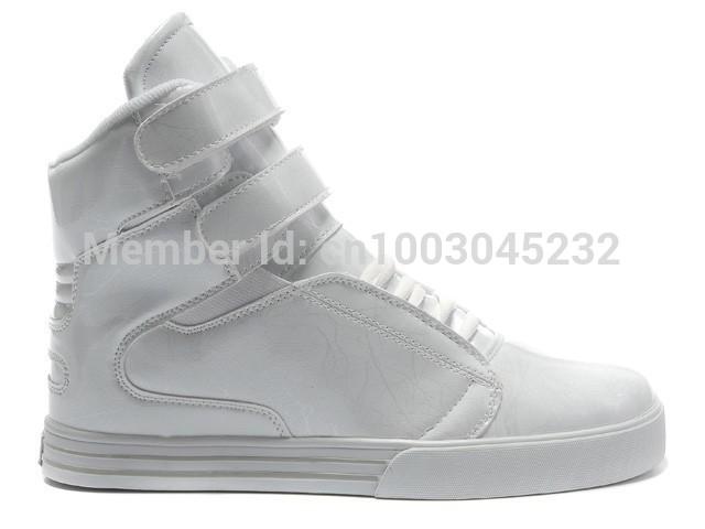 Джастин бибер жемчуг белый хомут липучка высокая верхний скейт обувь