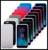 2014 Hot Sale Pu No free Shipping 10pcs/lot New Tpu Cover Skin for Iphone Air S-line Gel Ring Round Hole Rubber Case for 6