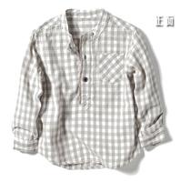 yccz10 plaid shirt kids shirts boys shirts for 2-8 age free shipping 5pcs/ lot